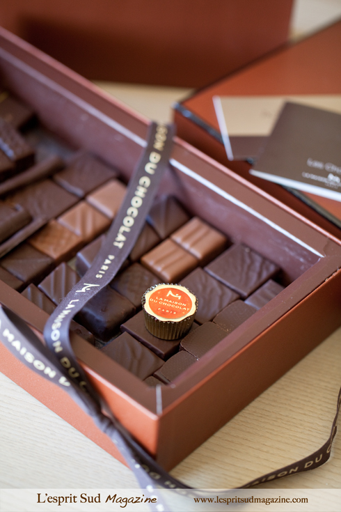 Cholate box from La Maison du Chocolat (Paris)