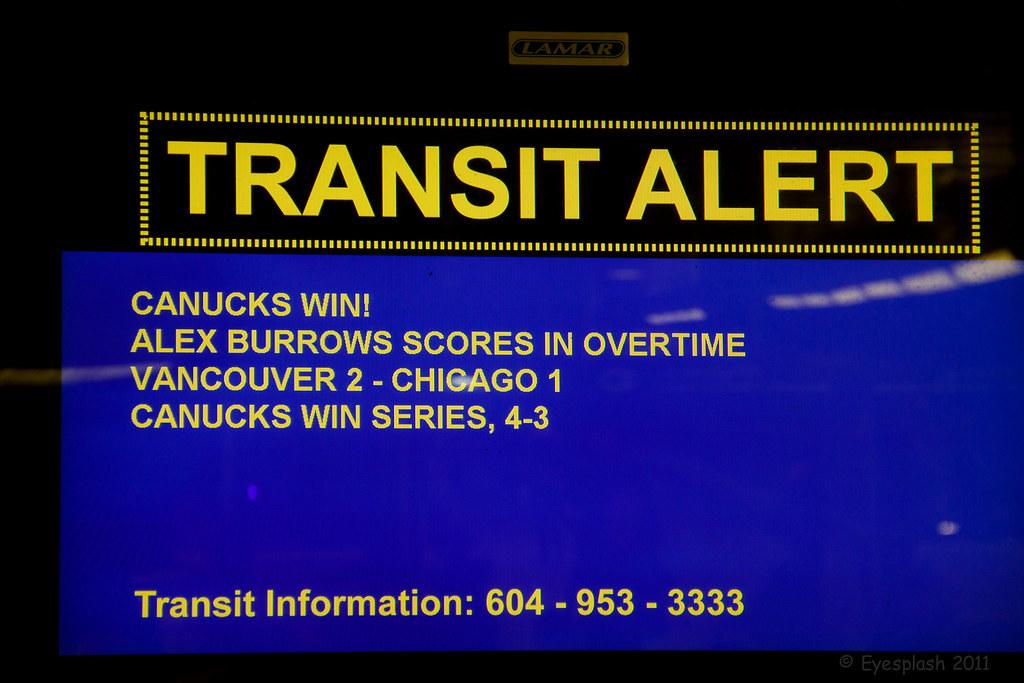 Transit Alert