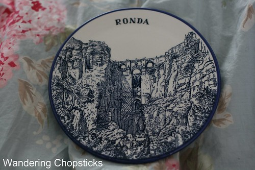 Ronda, Spain Souvenir Plate From Gourmet Pigs