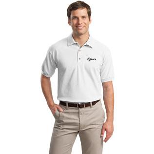 Promotional Items-Gildan® Ultra Cotton 7oz. Knit Sport Shirt (White) 51040