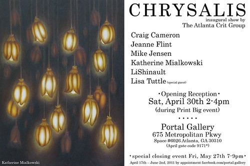 Chrysalis show announcement