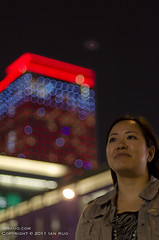 mKUO And The UFO (iankuo) Tags: portrait night roc bokeh taiwan ufo taipei whotel xinyi michellekuo thephoblographerdiyphotographybokehcontest