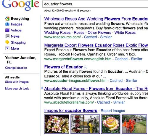 ecuador flowers