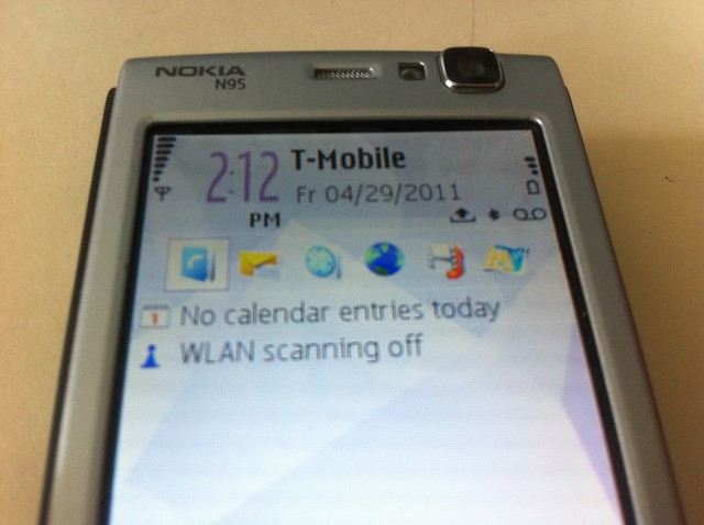 T-Mobile on Nokia N95