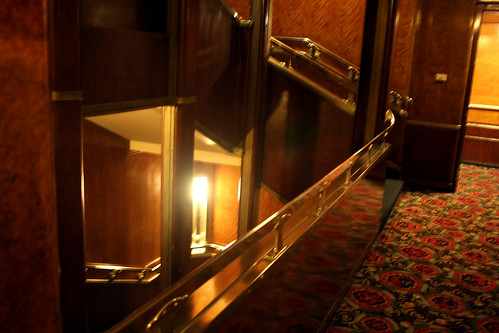 Queen Mary - Staircase - Main Deck - Not Quite Aft