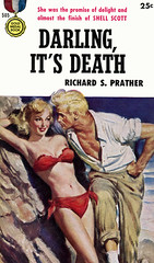 Darling, It's Death (McClaverty) Tags: mystery illustration paperback crime murder pulp privateeye detective suspense shellscott richardsprather