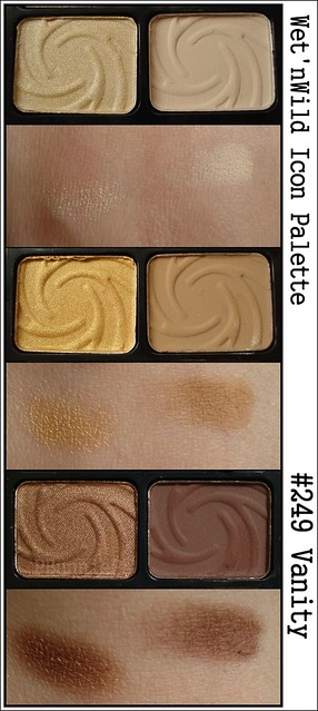 Wet 'n Wild ColorIcon 6-pan shadow--swatch