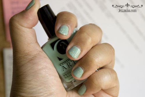 NOTD: Cosmetic Arts Enchanted Forest w/China Glaze Fairy Dust
