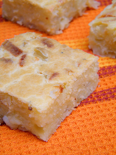 Tarta de Cebolla y Queso | Onion and Cheese Quickbread by katiemetz, on Flickr