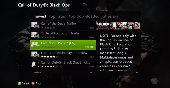black ops escalation map pack. The Escalation Map Pack is