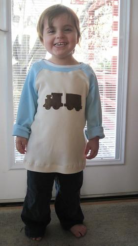 train shirt