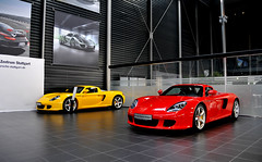 Carrera GT Duo (Rotaermel) Tags: sanfrancisco china california birthday park christmas new city nyc uk trip travel family flowers blue winter wedding friends party summer vacation portrait sky people bw italy music food usa white snow newyork canada paris france flower london art beach nature water girl car festival japan night canon germany photography mercedes benz concert spain nikon europe martin 911 australia ferrari porsche viper corvette lamborghini supercar bentley maserati aston amg