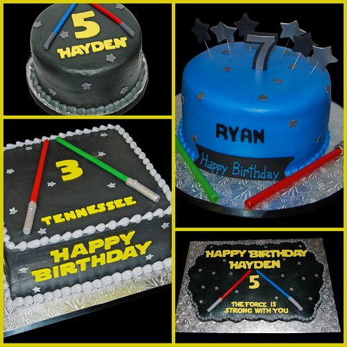 Star Wars themed cakes