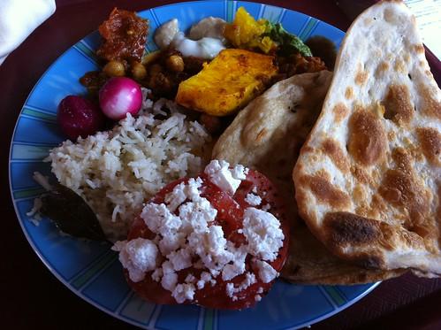 Carnival Splendor - Tandoor Grill Vegetarian Selection (Same All Week)