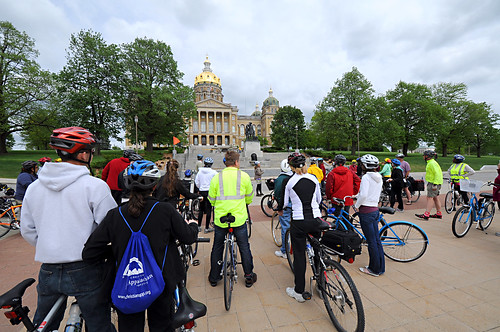 Day 135 - Bike to Art: Iowa State Capitol