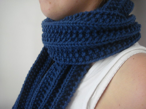 Sinful Ribbed Scarf