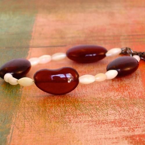 Red Beans & Rice Bracelet