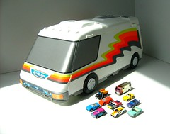 1991 Micro Machines Van Playset By Galoob Made In Mexico 1991 (Kelvin64) Tags: by micro 1991 machines van playset galoob