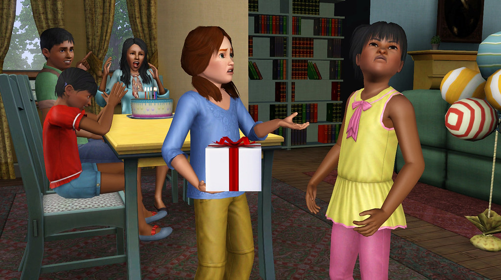 Sims 3 Generations Birthday Party