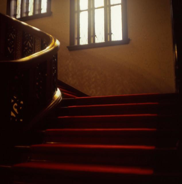 階段の窓明かり