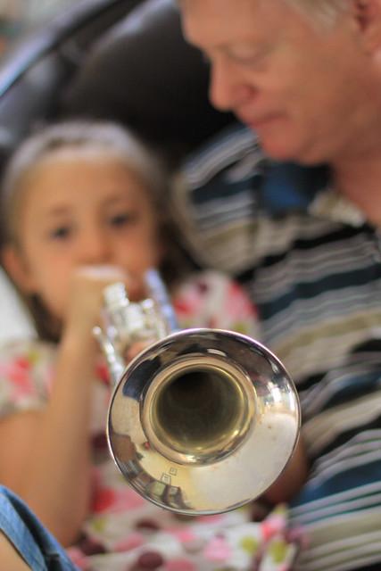 soft focus trumpet