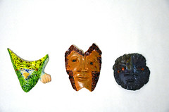Mike Santone: Ceramic Masks