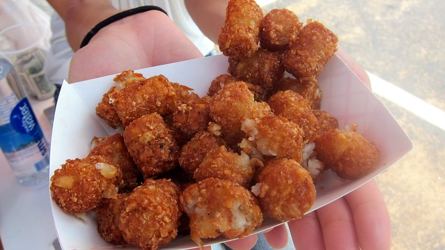 truffle tots from the hodge podge truck