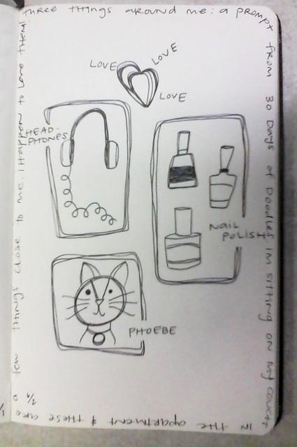 Elaine day 3 30 doodle