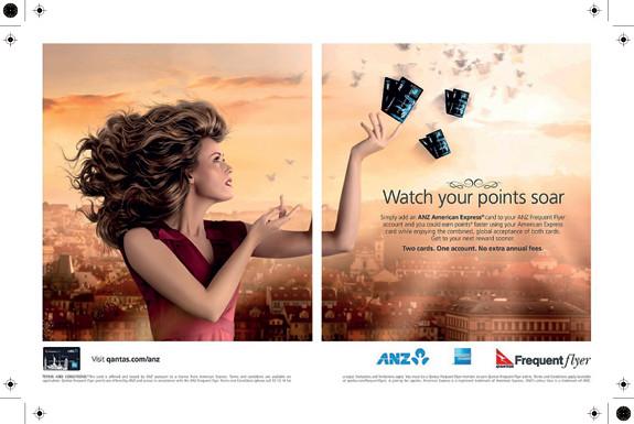 Qantas Frequent Flyer - AMEX - ANZ – Alexia Sinclair