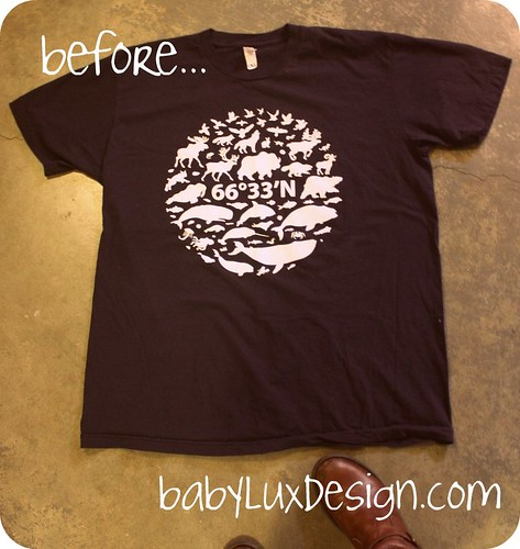 t-shirt recycle...