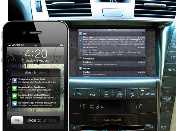 iphone ios5 car navigation