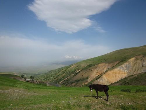 The road to Sabalan.