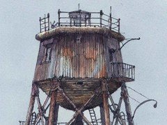 "Gunfleet Lighthouse Illustration • <a style=""font-size:0.8em;"" href=""http://www.flickr.com/photos/64357681@N04/5872859803/"" target=""_blank"">View on Flickr</a>"