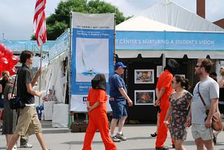Anti-Torture Vigil - Week 54: Des Moines Arts Festival