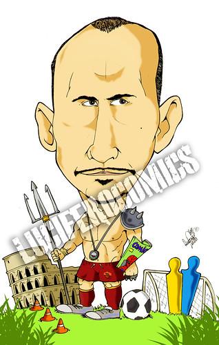 Caricatura per Franco
