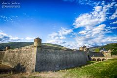 Ciudadela de Jaca (Javier_Subias) Tags: jaca aragon huesca landscape paisaje cielo sky nubes clouds castillo castle ciudadela nature naturaleza aire libre