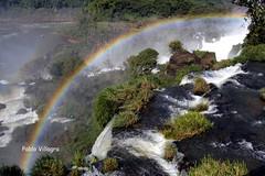 Iguaz bajo la lupa (pablovillagra2004) Tags: waterfalls rainbow arcoiris iguaz cataratas colores efectospticos naturaleza water