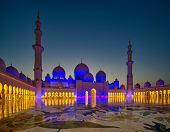 A new year with you .. (Almsaeed) Tags: zayed mosque abu dhabi blur new year hijri lights 1438 colorful reflection canon domes wide angel minaret flowers yellow dreams comes true joyful heart fida she is one i love digital photography