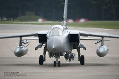Tornado GR4 Takes Off from RAF Marham to Enfor...