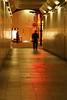 通路の多重光線