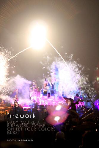 firework - flare