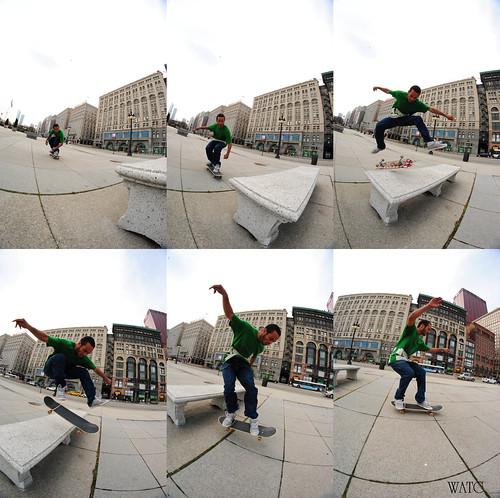 Brandon Kickflip
