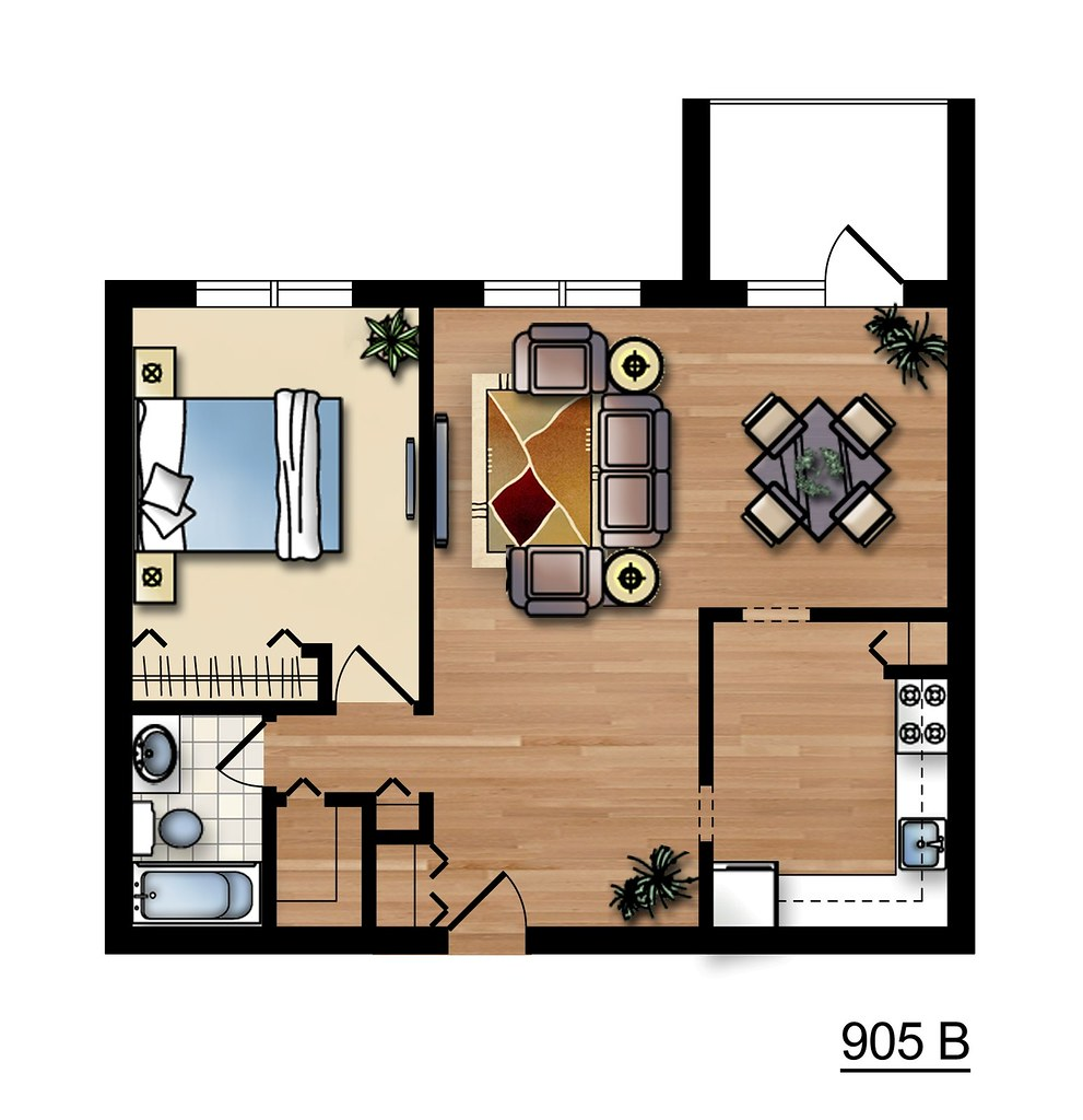 Chestnut Hill North floor plan
