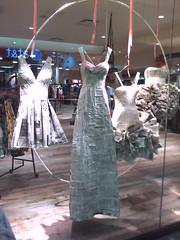 Newspaper dresses