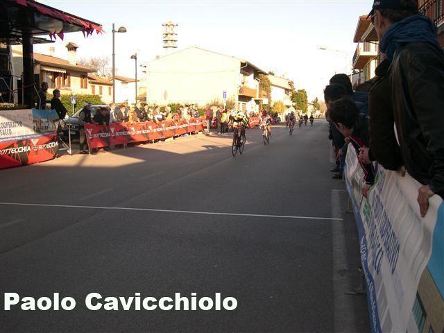 2-Arrivo vittorioso di Paolo Cavicchiolo ad Arzergrande