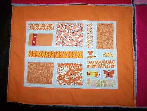 Tangerine block