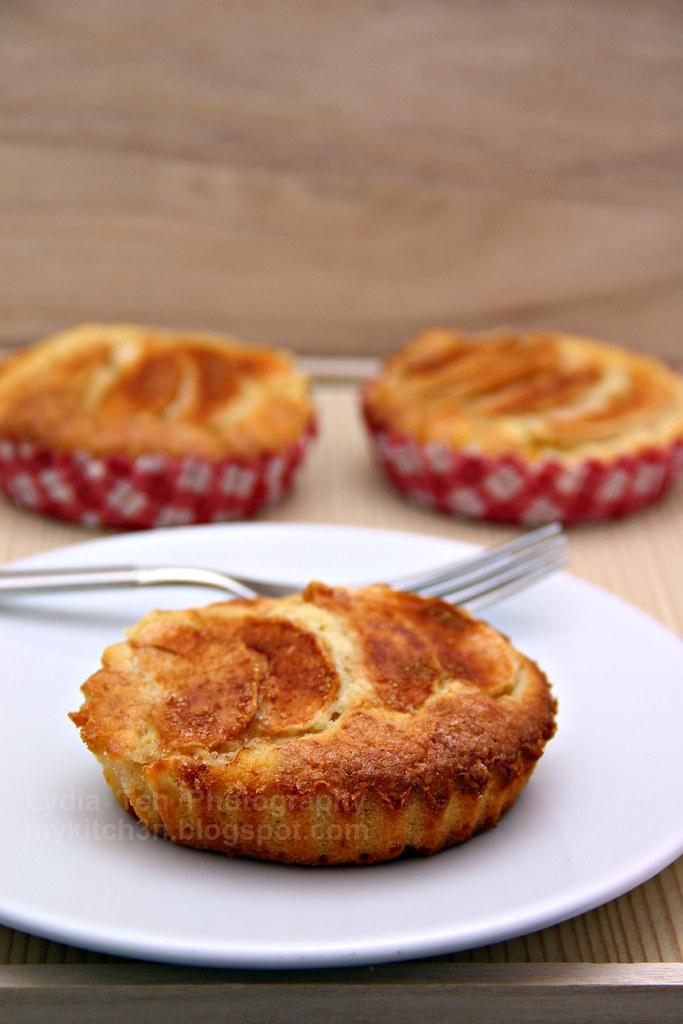 Individual Apple Cake