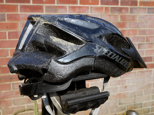 broken-cycling-helmet