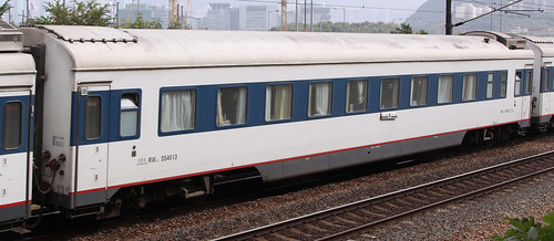 China Railways carriage RW25T 554613