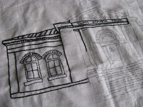James Memorial Stitching